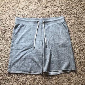 Grey workout Bermuda shorts